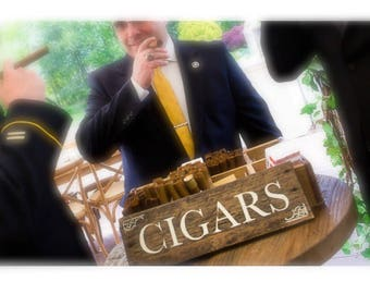 CIGARS Handmade Pallet Sign