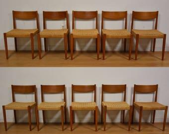 teak dining chairs | etsy