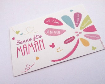 "Mini Card ""happy mother's day"""