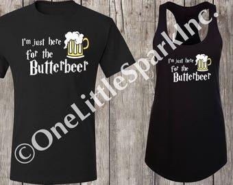 Harry potter butter beer shirt  harry potter drinking shirt butter beer shirt harry potter couple shirts harry potter bachlorette