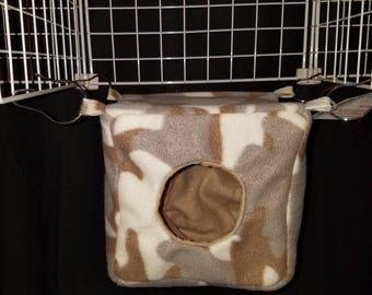 Fleece Cube Hammock for Rats, Ferrets, Chinchilla's, Sugar Glider's