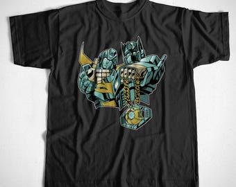 T-Shirt Transformer Rap ,S ,M, L ,XL ,2XL ,3XL ,4XL, Decepticon ,Prime, Optimus ,Hip Hop
