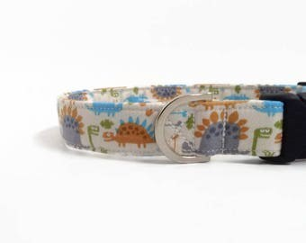 Dinosaur Dog Collar   Boy Dog Collar   Dog Collar   Large Dog Collar   Male Dog Collar   Small Dog Collar   Puppy Collar   Fun Dog Collar
