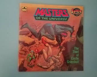 Masters of the Universe: The Thief of Castle Grayskull He-Man Paperback 1983