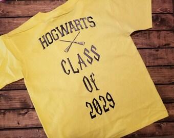 Hogwarts Graduating Class Funny Harry Potter Tee