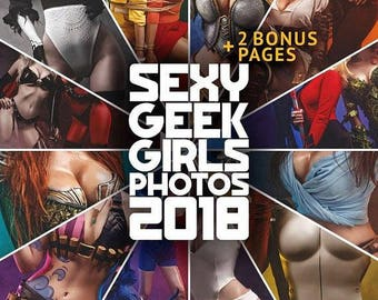 Sexy Geek Cosplay Calendar 2018 + 2 EXCLUSIVE PAGES!