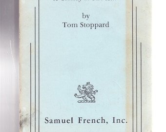 The Real Thing: A Comedy in Two Acts by Tom Stoppard Samuel French Play 1984
