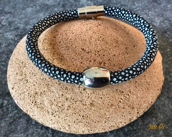 Bracelet Stingray with magnetic clasp 5mm