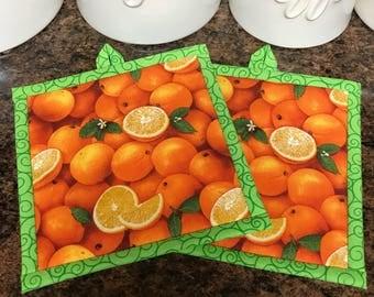 Orange Pot Holder
