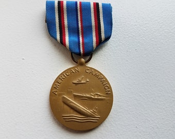 World War 2 American Campaign Medal