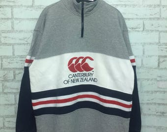 Rare canterbury new zealand rugby stripe XL size all blacks great condition