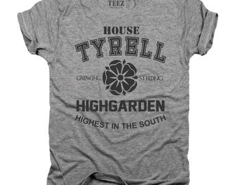 House Tyrell, GOT, T-shirt, game of thrones, high garden, got shirt, game of thrones shirt, game of thrones gift, gifts for him, T131