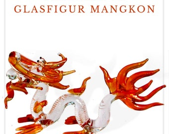 Fabulous glass figurine - Mangkon