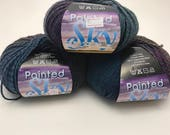 35% off, Knitting fever, Painted Sky, wosted weight, self striping