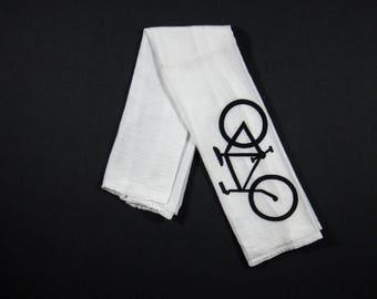Bicycle Flour Sack Tea Towel