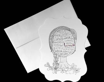 5x7 Postcards with Envelopes