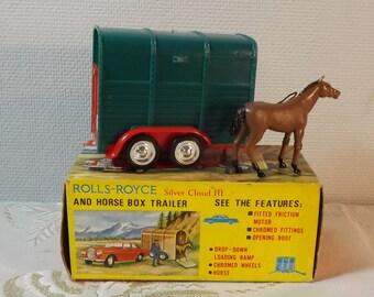 Lucky toys. Horse box trailer. Vintage. Hong Kong