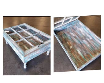 On Sale Beach House Coffee Table Rustic Coffee Table Glass Top Coffee Table