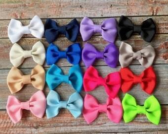 PICK 4 Bow Headbands, Baby Headband, Baby Girl Headband, Infant Headband, Baby Bow Headband, Newborn Headband, Headband, Girl Headband, Baby