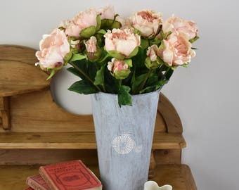 Peony bouquet, peony flower, peach flowers, interior decor, flowers, peonies, silk flowers, home and living, floral display
