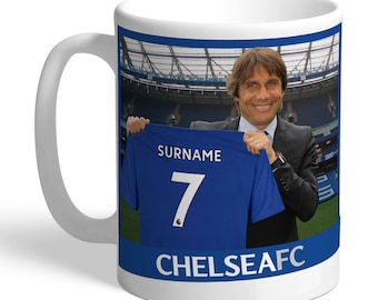 Chelsea FC Personalised Manager Mug