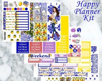 Greek Summer // Weekly Kit - Happy Planner