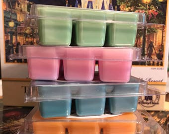 Any 4 Disney Scented Wax Melts, Disney Inspired, home fragrance