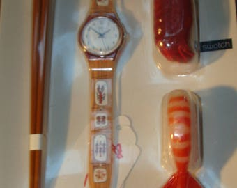 "Swatch Watch ""Sushi Special"""