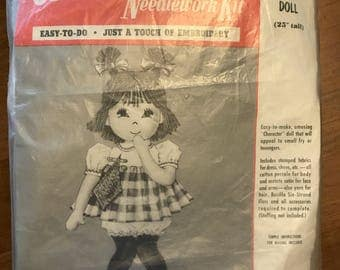 Buchilla Needlework Kit- Basheful Betty Doll