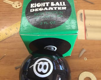 Avon eight ball Decanter