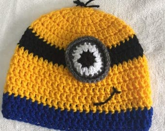 Child minion beanie minon hat
