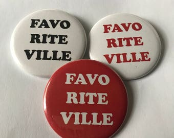 Fayetteville AR Pinback Buttons