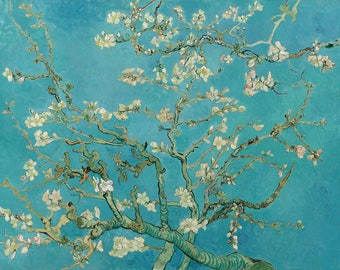 Vincent van Gogh, Blossoming Almond Tree, 1890, Museum Quality Giclee Art Print