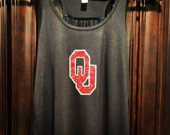 COLLEGIATE CORNER: Oklahoma sooners tank top, Boomer Sooner, Oklahoma sooners t shirt, OU football tee
