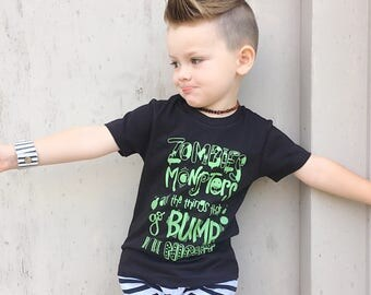 Toddler Halloween shirt - boys halloween shirt - kids halloween outfit - halloween clothes for kids - trendy fall shirt - my first halloween