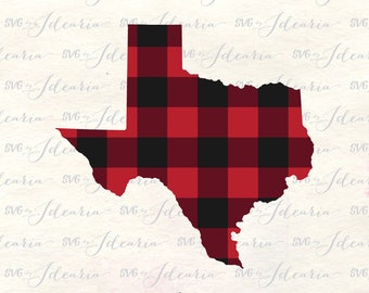 Plaid Texas svg, texas svg, buffalo plaid svg, plaid svg file, texas svg file, christmas texas svg, texas shirt svg, texas dxf, texas shirt