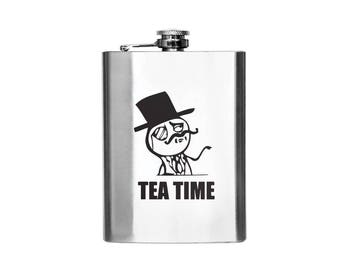 Tea Time Designer Flask