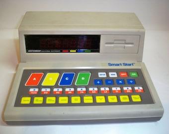Vintage 1986 Vtech Video Tech Smart Start, Vintage Educational Toys, Computer Toys, Tested and Works