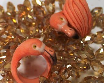 "Ring ""Flamingo"