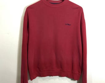 Vintage LL Bean Small Logo Spell Out Crewneck Extra Small Size