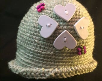 Baby Girl Winter Hat