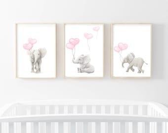 nursery prints, elephant art, elephant prints, nursery wall art, nursery art prints, elephant artwork, elephants, elephant wall art,