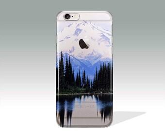 i Phone 7 Plus Case, iPhone7 Plus Case Silicone,  iPhone7 Case Mountain, i Phone 7 Protective Case,  iPhone 7 Plus Case Clear Gift //110