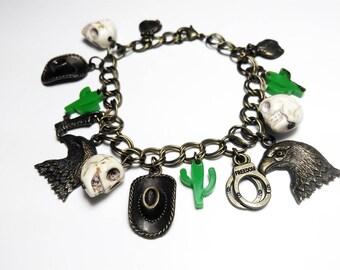 Country bracelet - wild west cowboy