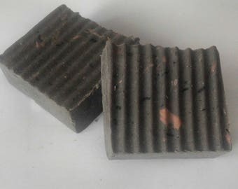 Almond Handmade soap with Activated charcoal