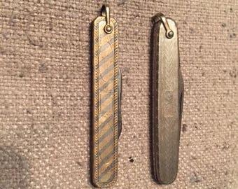 Vintage Pair of Gentlemen's Pocket Knives