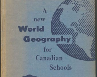 A New World Geofraphy for Canadian Schools