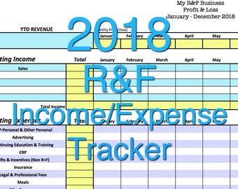 expense and income tracker