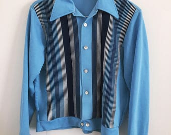 50/60s Blue Shirt/Jacket