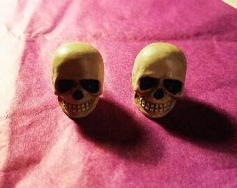 Halloween Skull Earrings